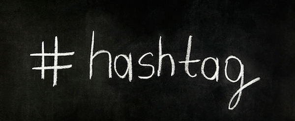 Hashtag blackboard