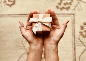 Close up gift